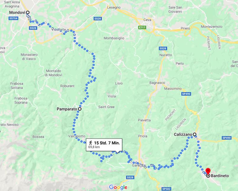 Per Fahrrad durch die Piemonteser Hügel