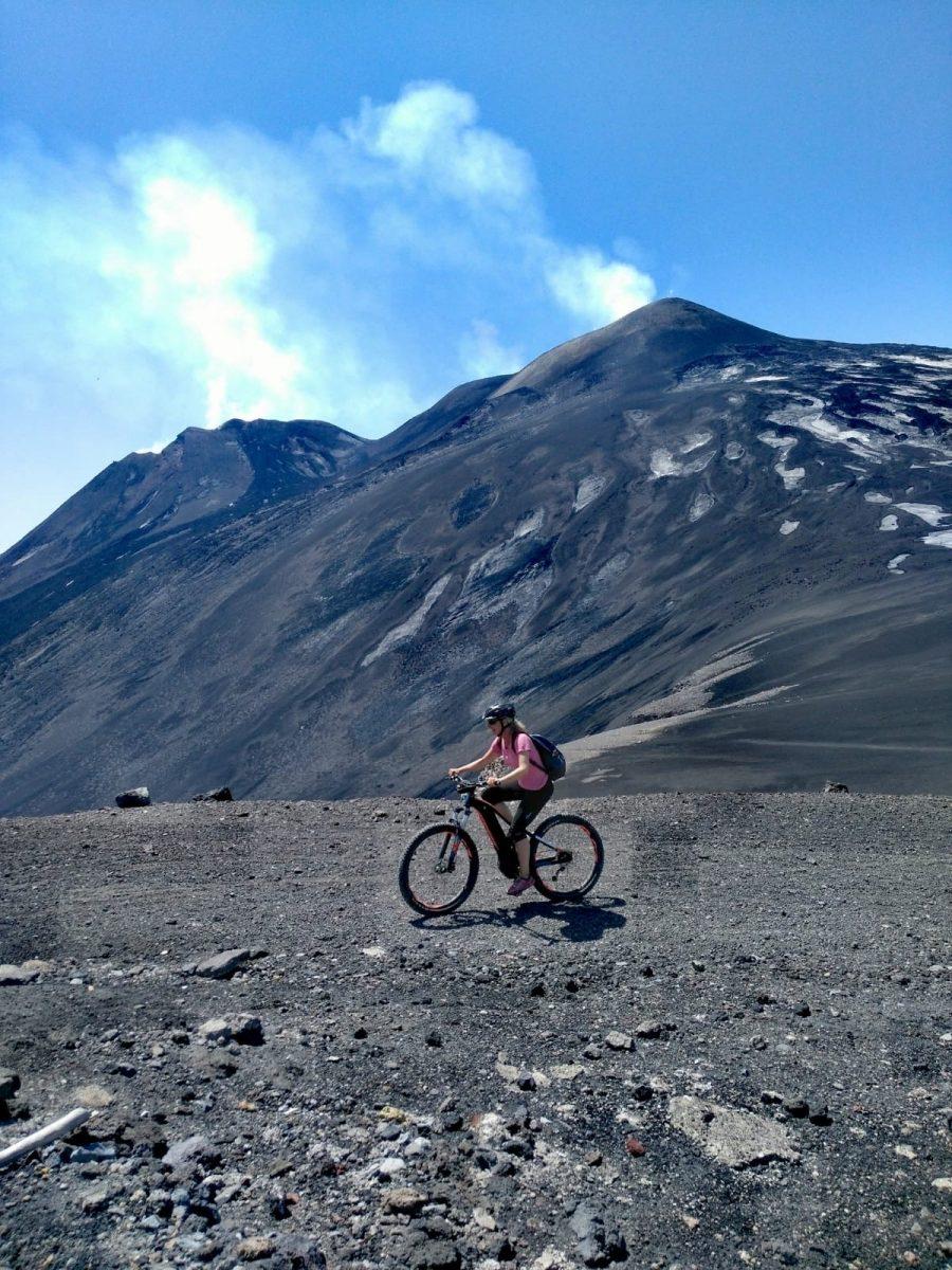 Auf Siziliens Vulkan mit dem Fahrrad