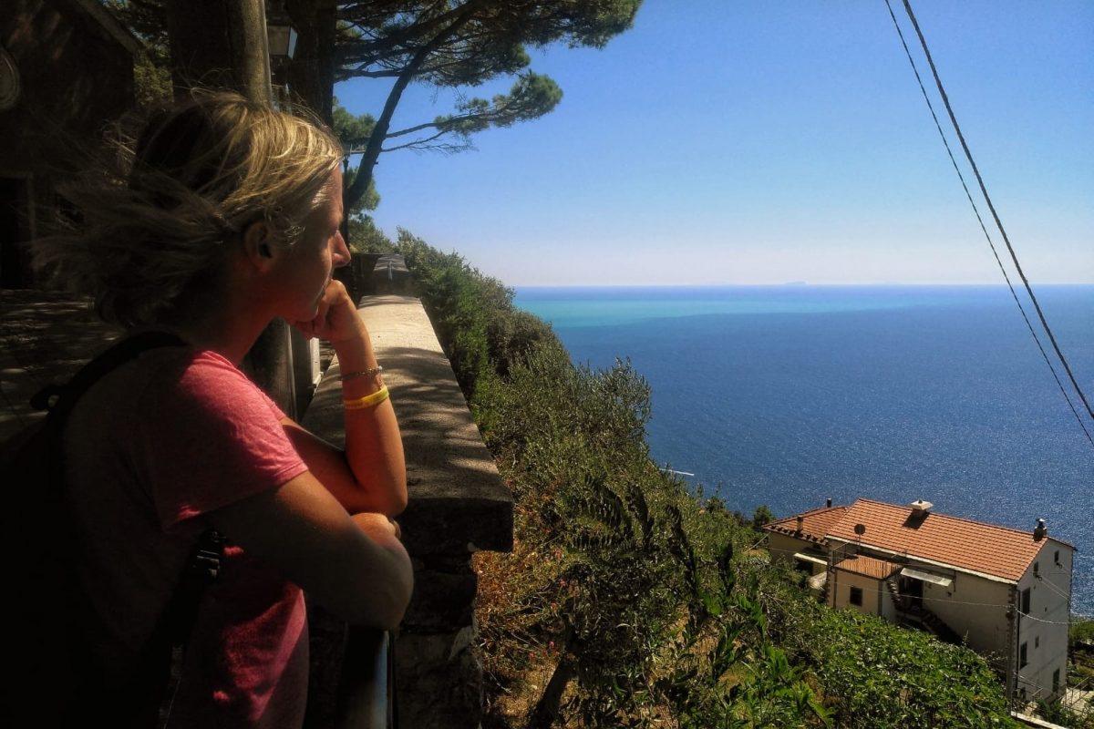 Von Riomaggiore nach Portovenere wandern