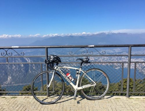 Radtour zwischen Comer und Luganer See: auf dem Balkon Italiens