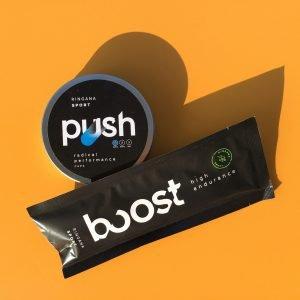 Ringana Push und Boost