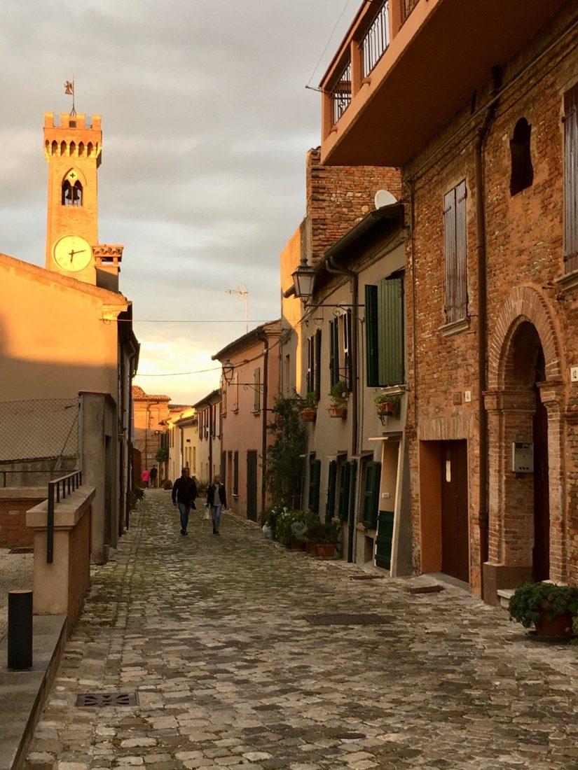 Abendstimmung in Cattolica an der Adria