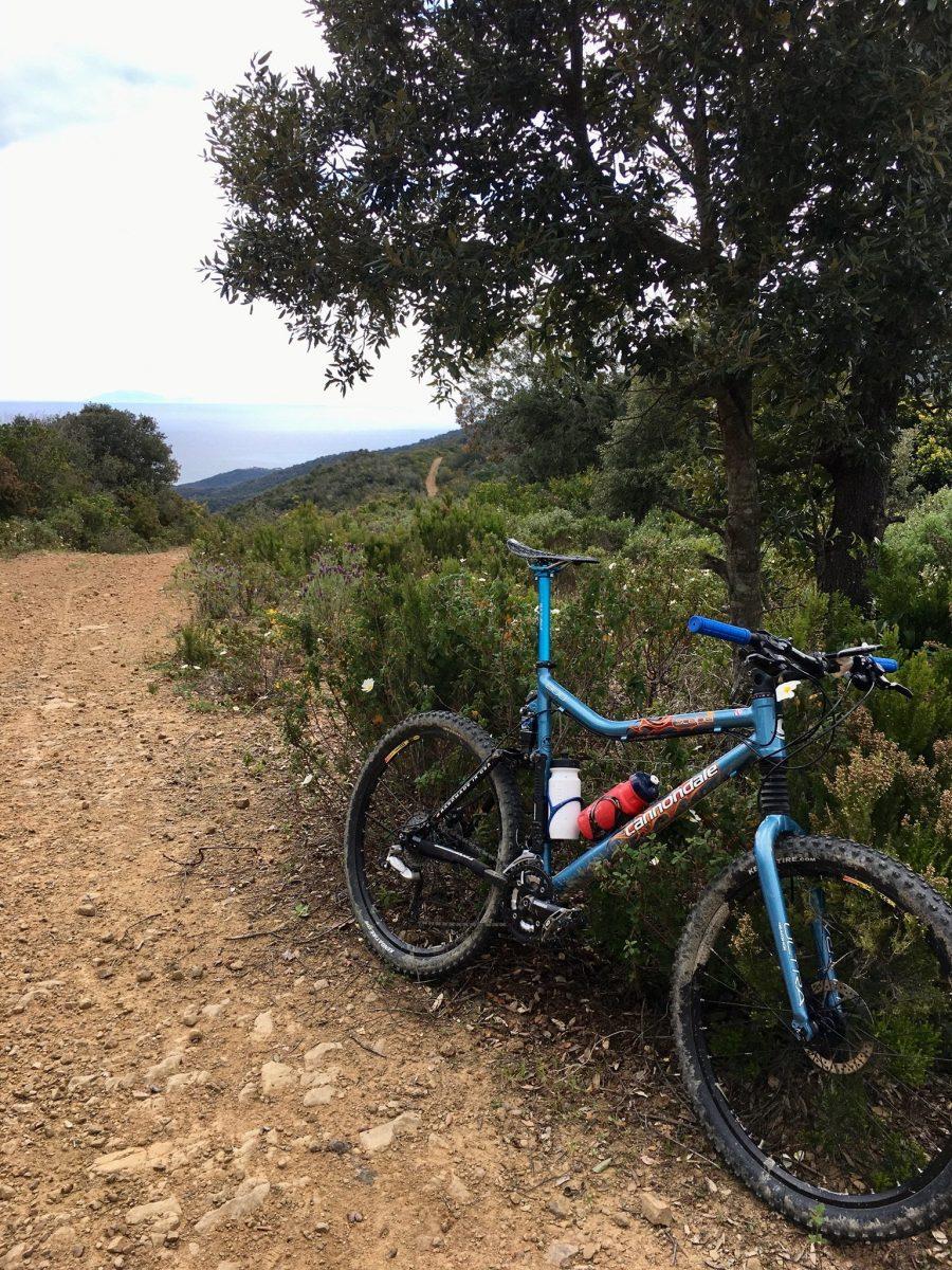Per Fahrrad in der Toskana