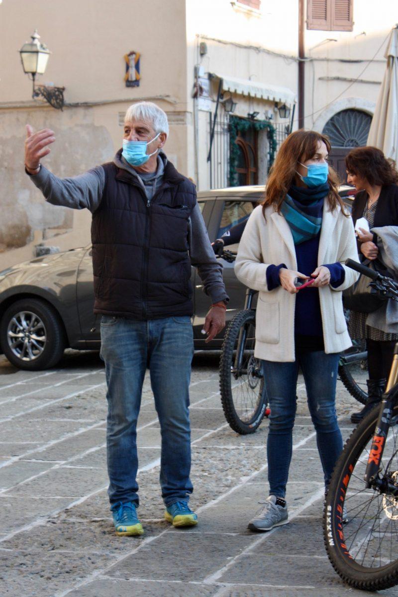 Organisatoren der Maremma Bike Challenge