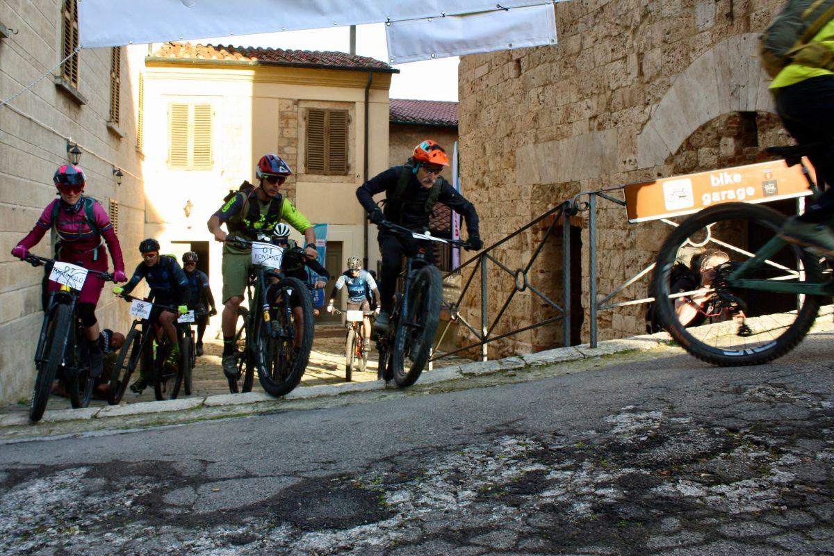 Start der Maremma Bike Challenge 2021